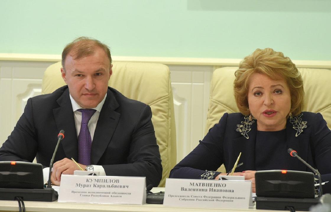 Валентина Матвиенко совершила рабочий визит в Адыгею