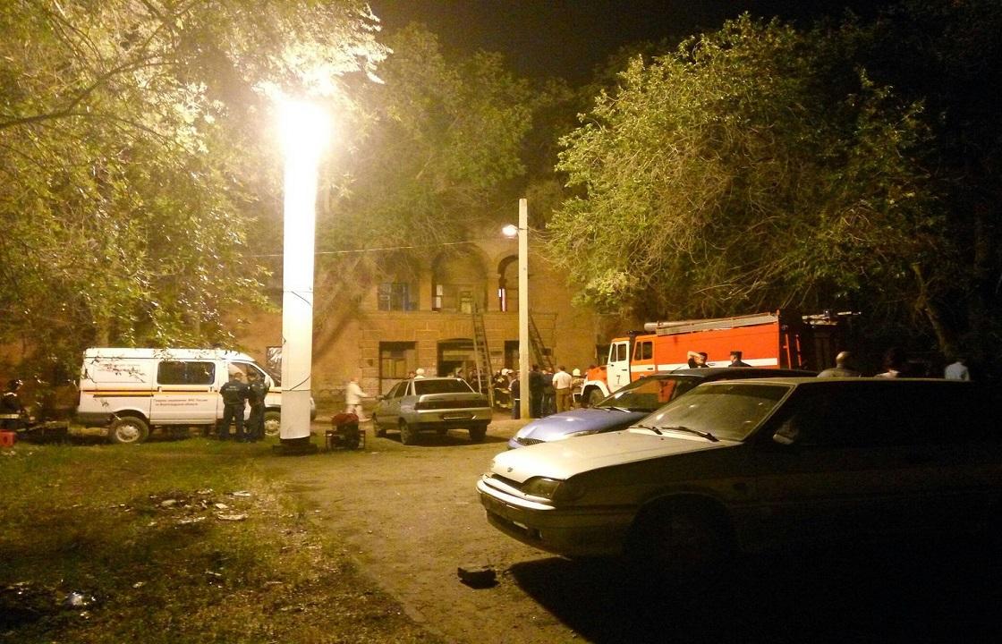 В Волгограде обрушилась часть многоквартирного дома