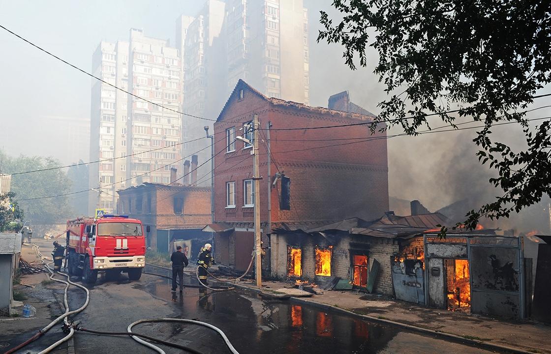 Уволился глава сгоревшего в Ростове района