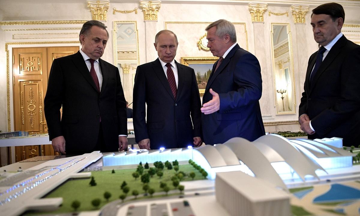 Голубев предложил сделать стадионы ЧМ-2018 бесплатными для детей