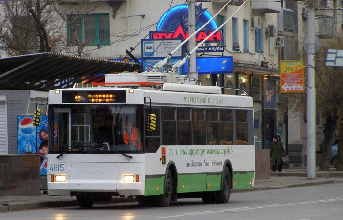Астраханцы просят волгоградских чиновников не уничтожать троллейбусы