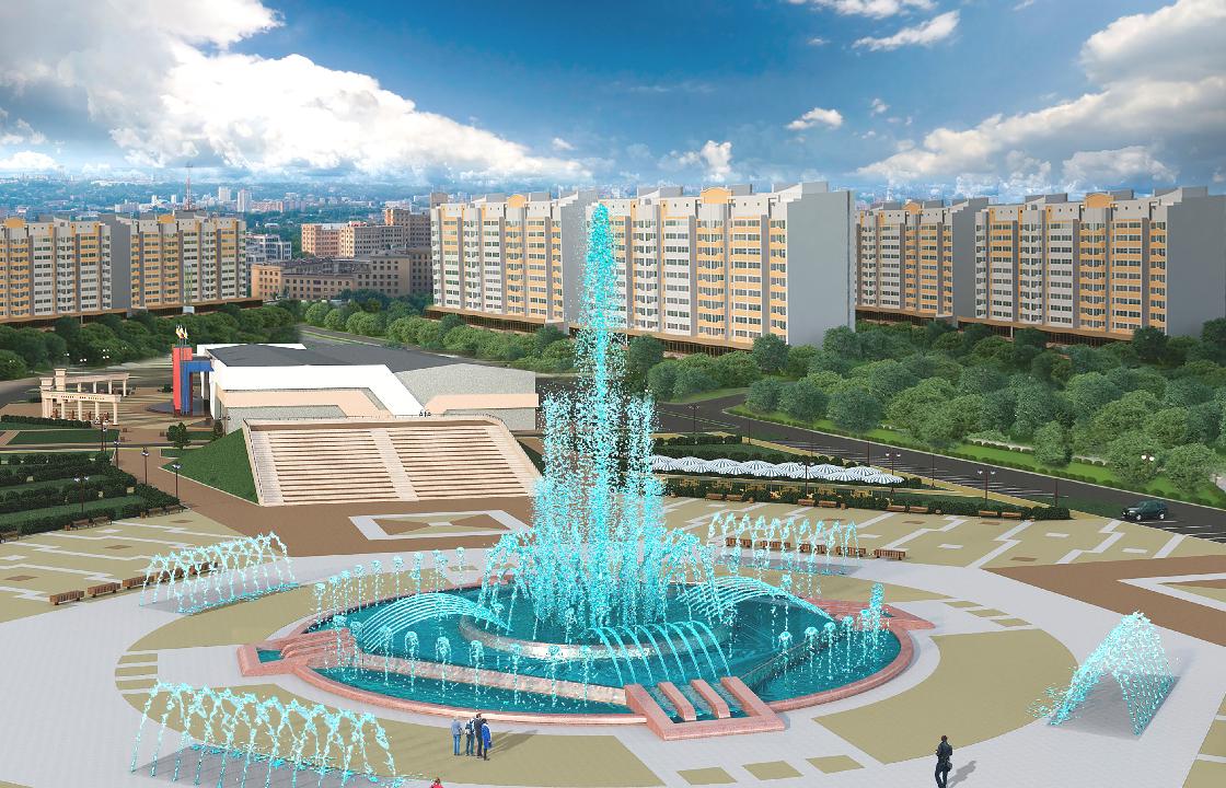 Самый большой фонтан на юге России  построят в Ставрополе
