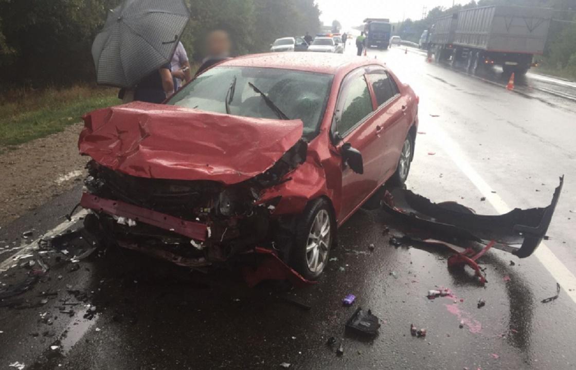 Четверо погибли в ДТП в Адыгее. Фото - во что превратились машины