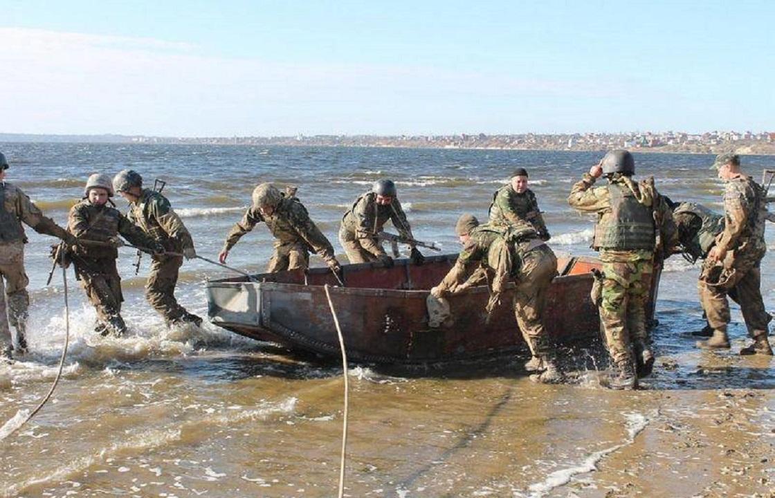 270 украинских морских спецназовцев будут охранять Азовскую и Черноморскую акваторию от нападения агрессора