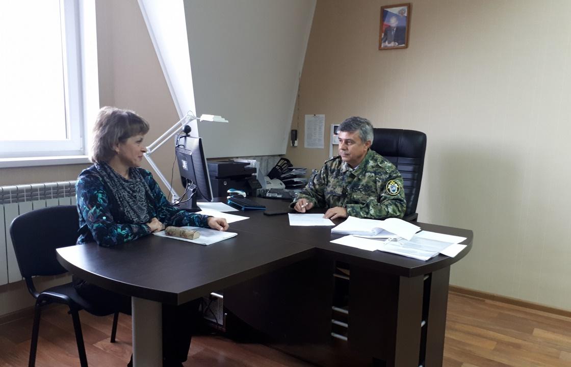 Первый заместитель руководителя Южного СУТ проведет прием в Краснодаре