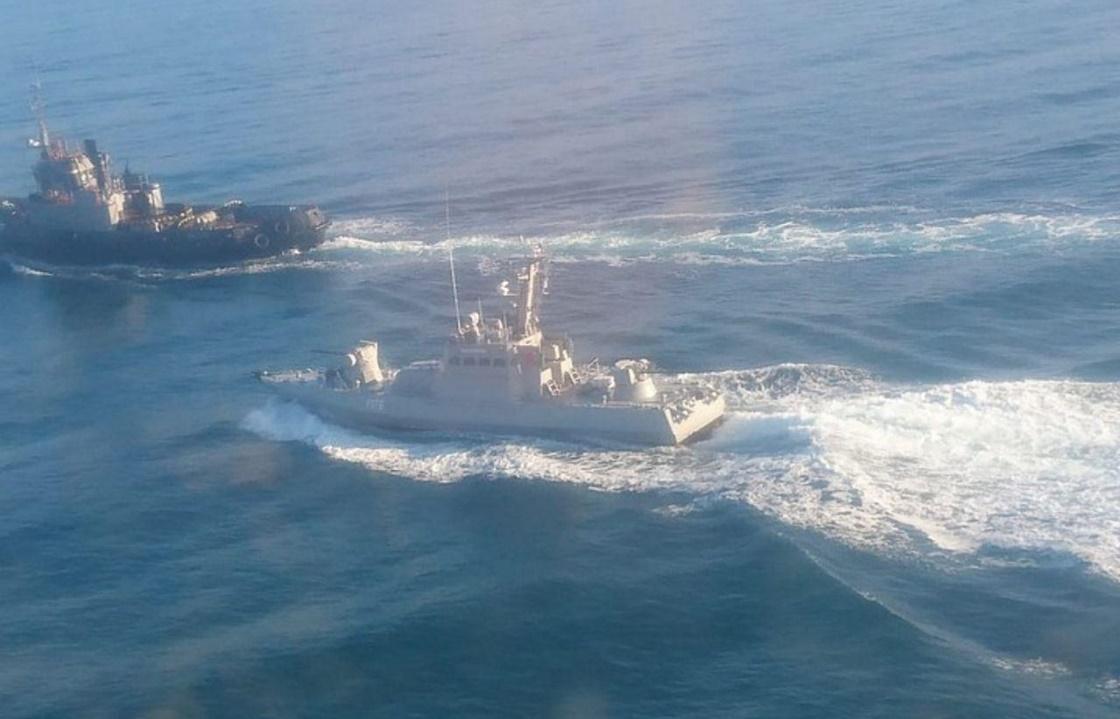 Три украинских судна задержаны спецслужбами России за нарушение границы