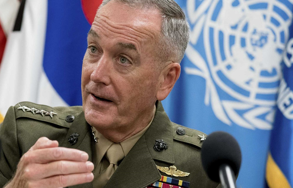 США не собирается начинать войну из-за украинских моряков - генерал Данфорд