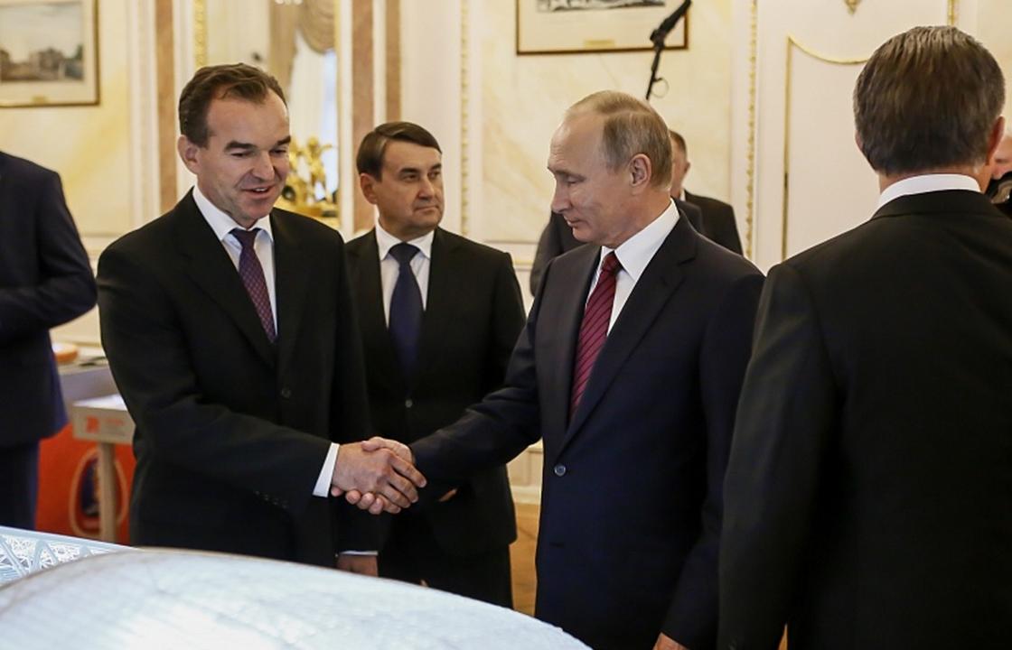 Главы Ставрополя и Кубани вошли в президиум Госсовета