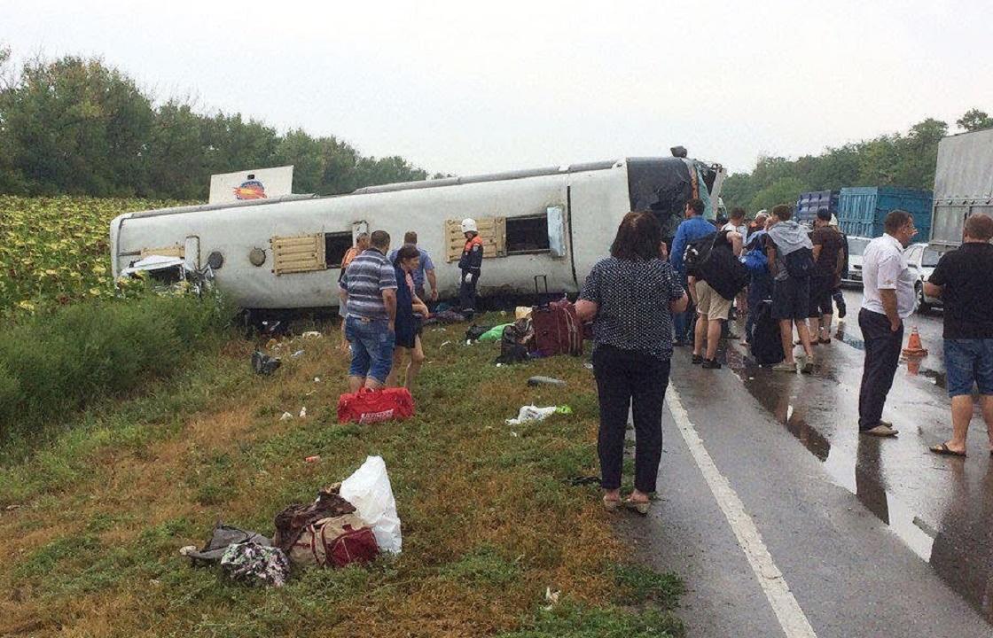 Власти рассказали о состоянии пострадавших в ДТП с автобусом «Волгоград - Ставрополь»