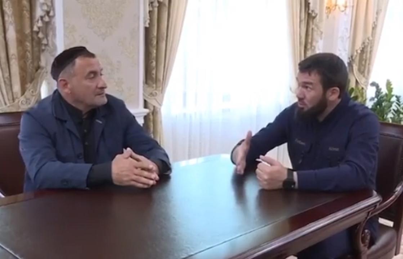 Даудов встретился с ингушом, который не пришел на стрелку на границе республик. Видео
