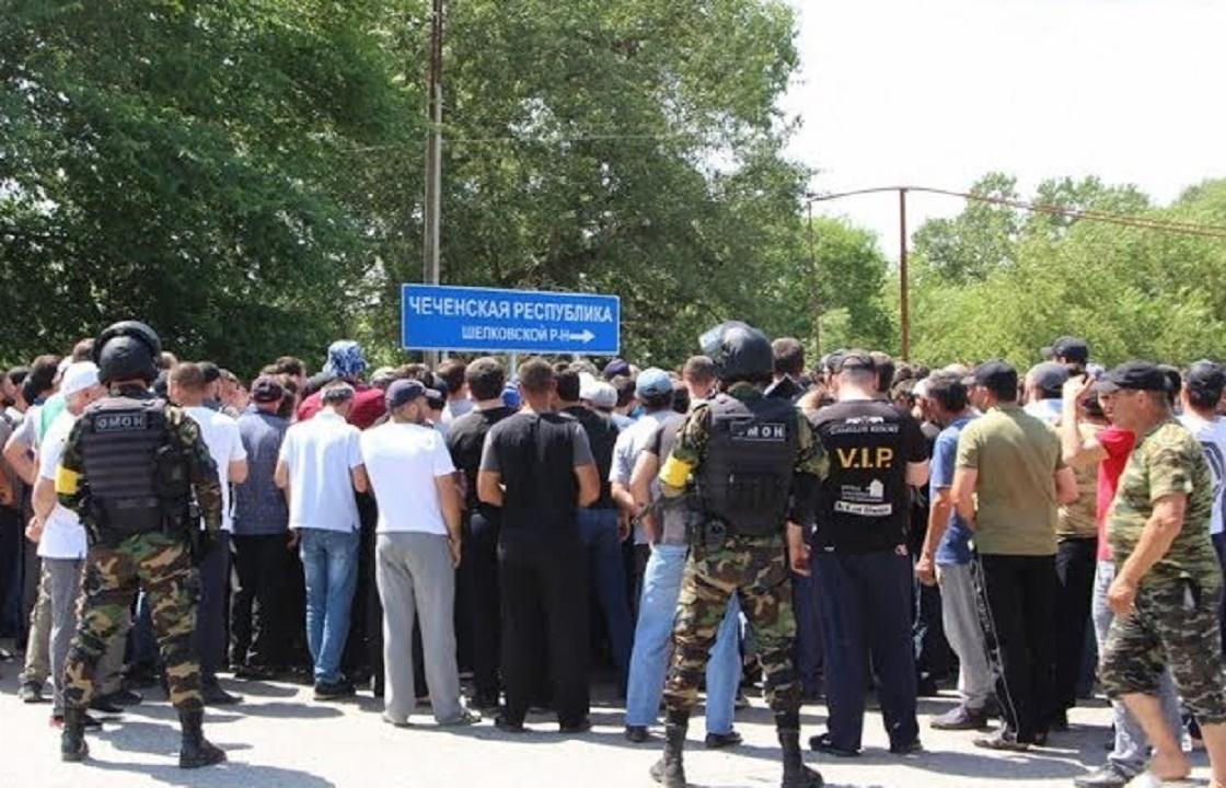 Парламент Чечни возобновит работы по границе с Дагестаном