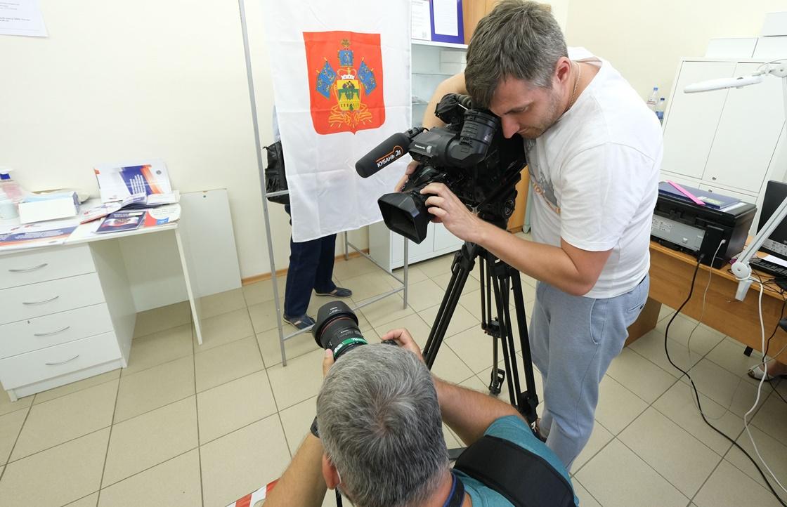 Более 2,8 тыс участков для голосования открылось на Кубани