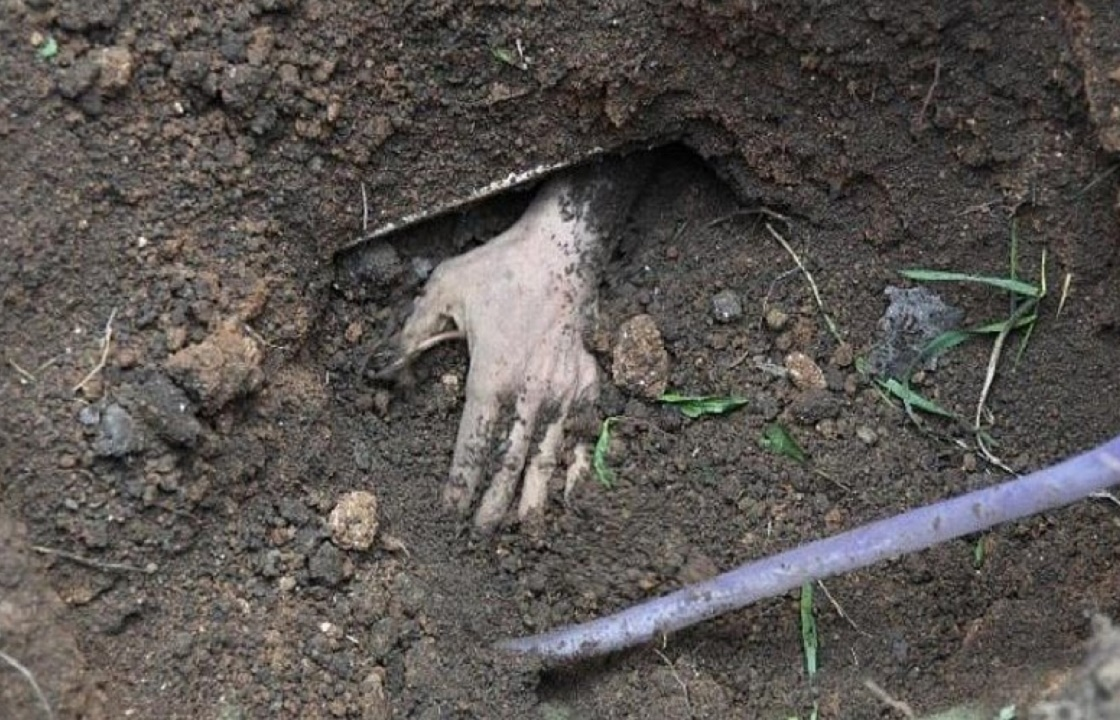 Житель Ставрополья закопал сожительницу за домом