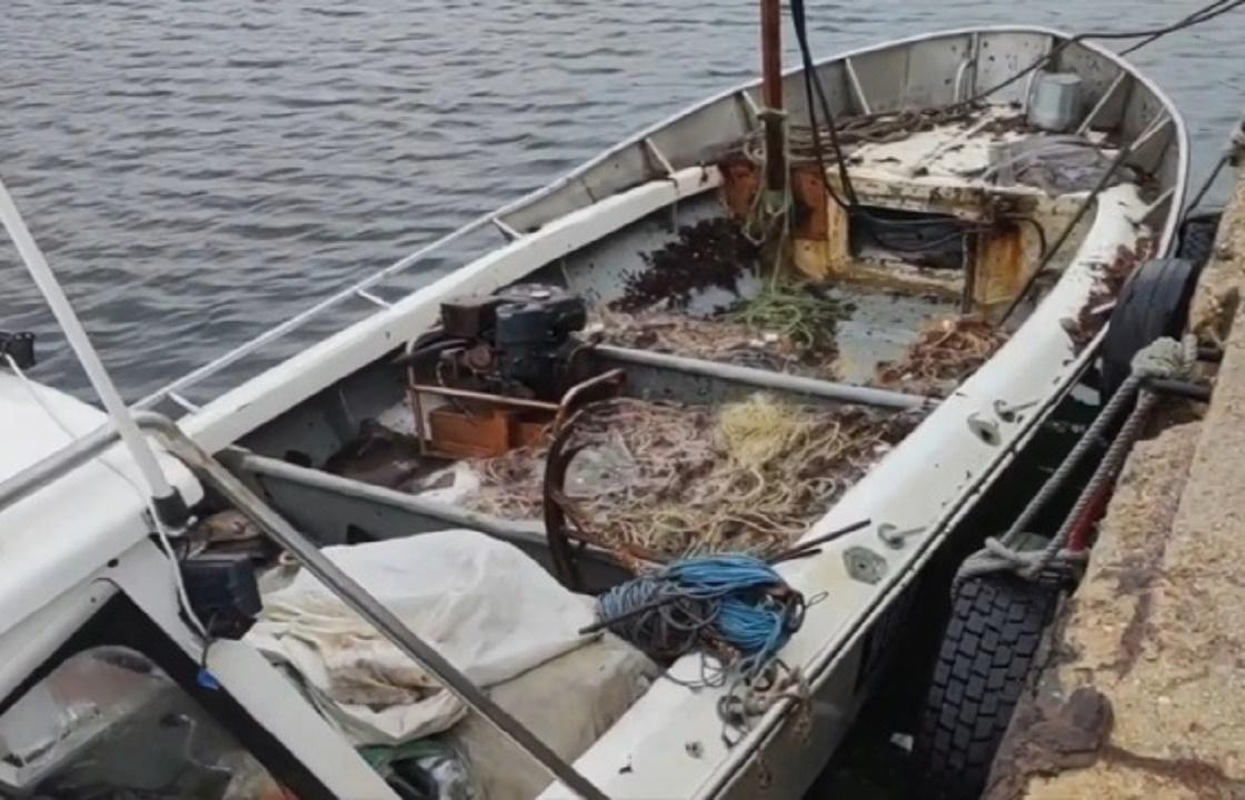 Украинские браконьеры случайно заплыли в Крым