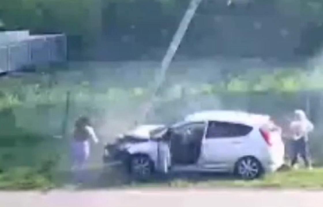 Форсаж по-станичному: школьницы на Кубани на скорости попали в ДТП