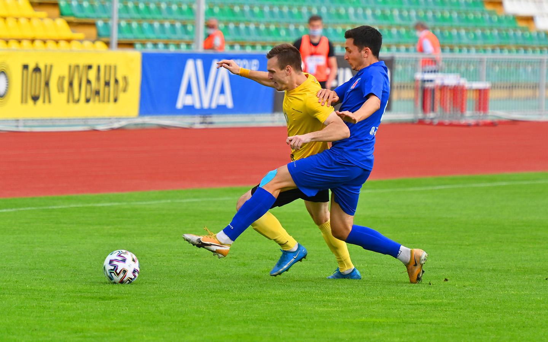 Футбольная «Кубань» выиграла свой чемпионат