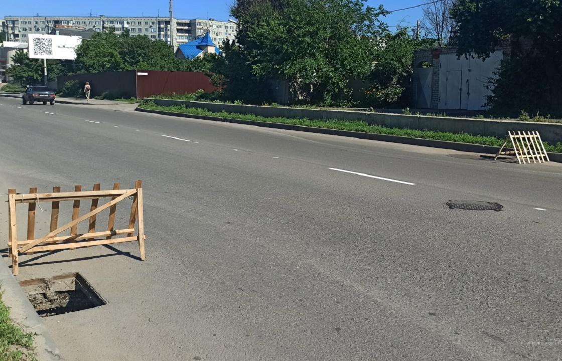 Подростки на «семерке» воровали чугунные люки в Волгограде