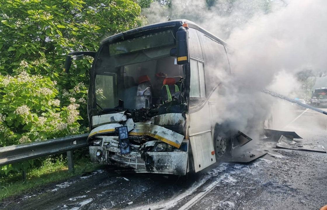 Пострадавшие в ДТП под Туапсе не получили серьезных травм – оперштаб