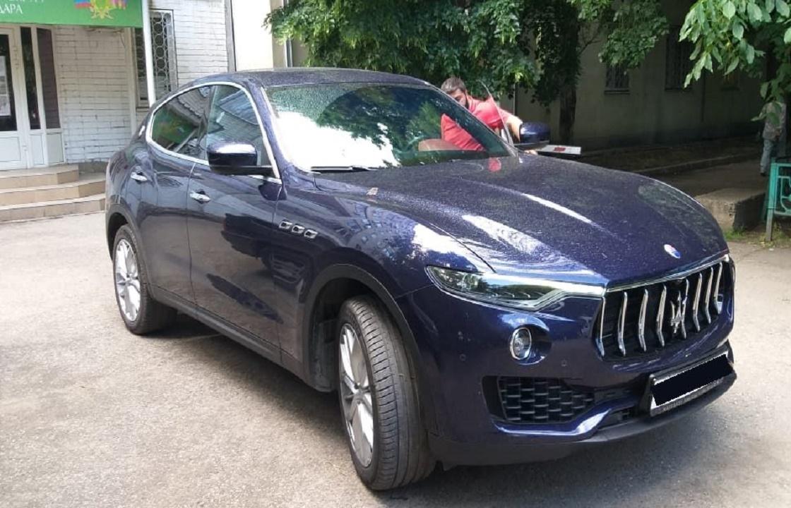 У задержавшего зарплату бизнесмена из Краснодара арестовали Maserati Levante