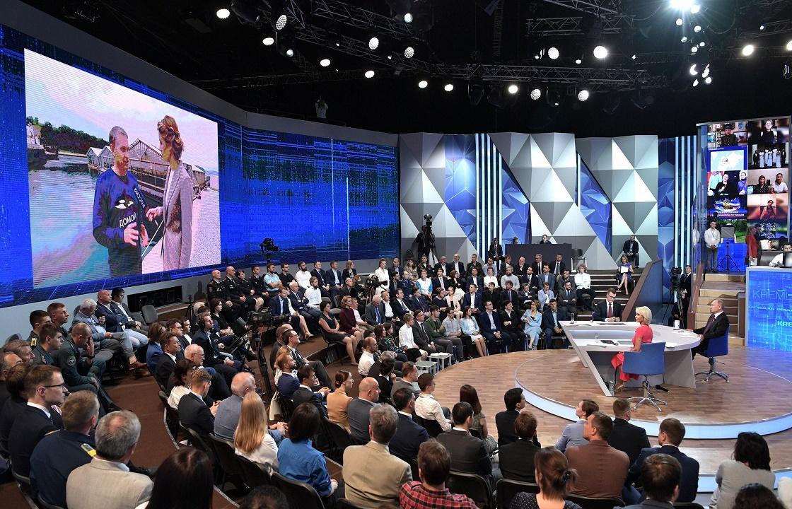 Кубань и Дагестан больше других хотят пообщаться с Путиным