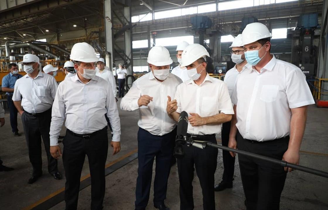 Кубанских металлургов поздравили с профессиональным праздником