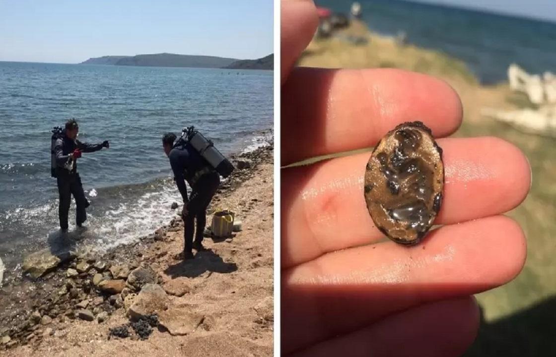 Античный перстень с Афродитой на корточках найден в Крыму