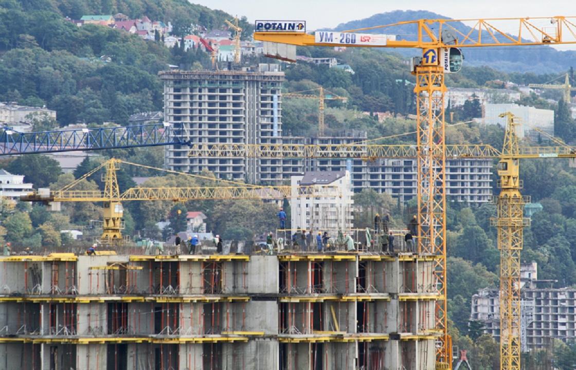 Мораторий на строительство многоэтажек ввели в Сочи