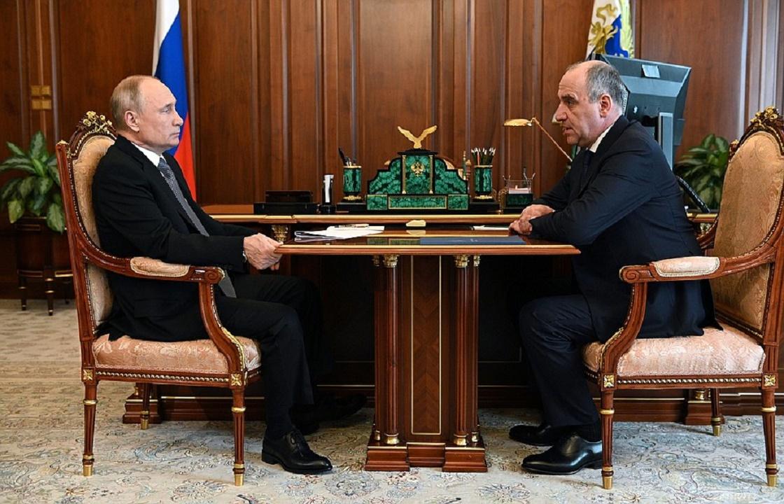 Путин внес кандидатуру Темрезова на новый срок. Подробности