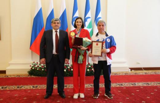 Марии Ласицкене вручили наивысшую государственную награду Кабардино-Балкарии