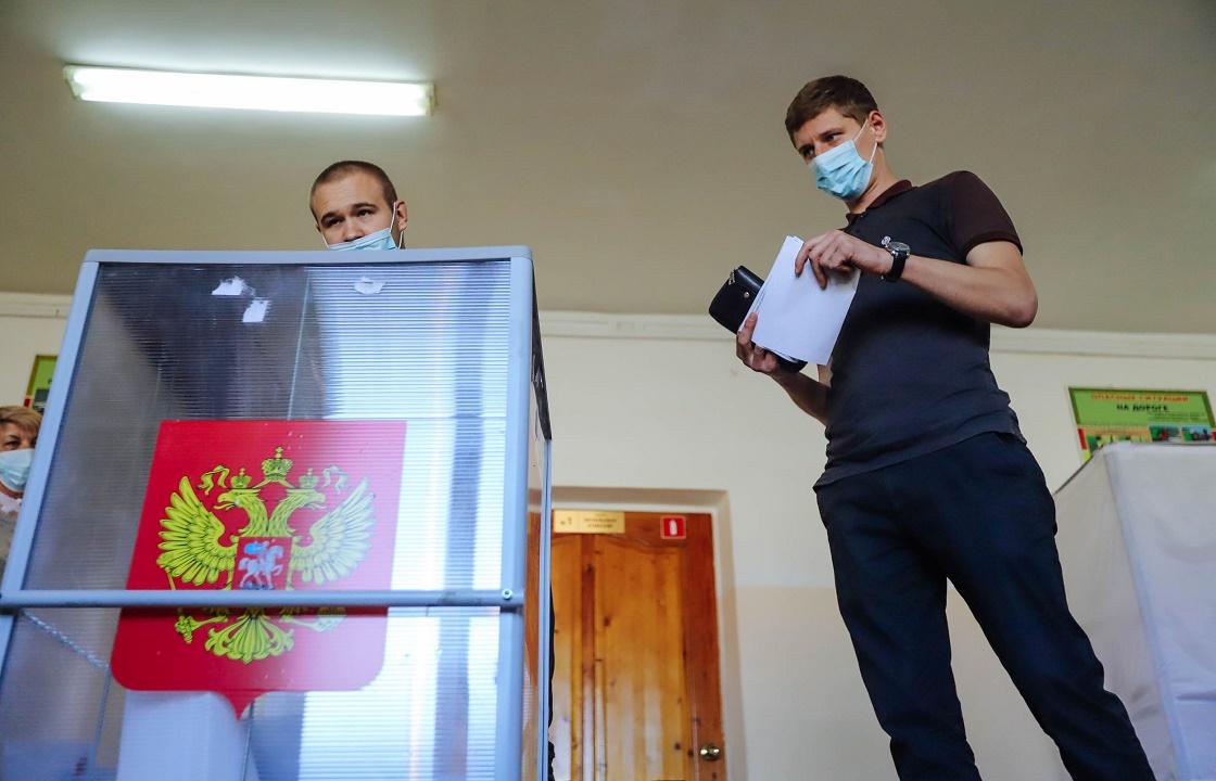 Краснодарский край вошел в топ-20 по активности избирателей в первый день голосования