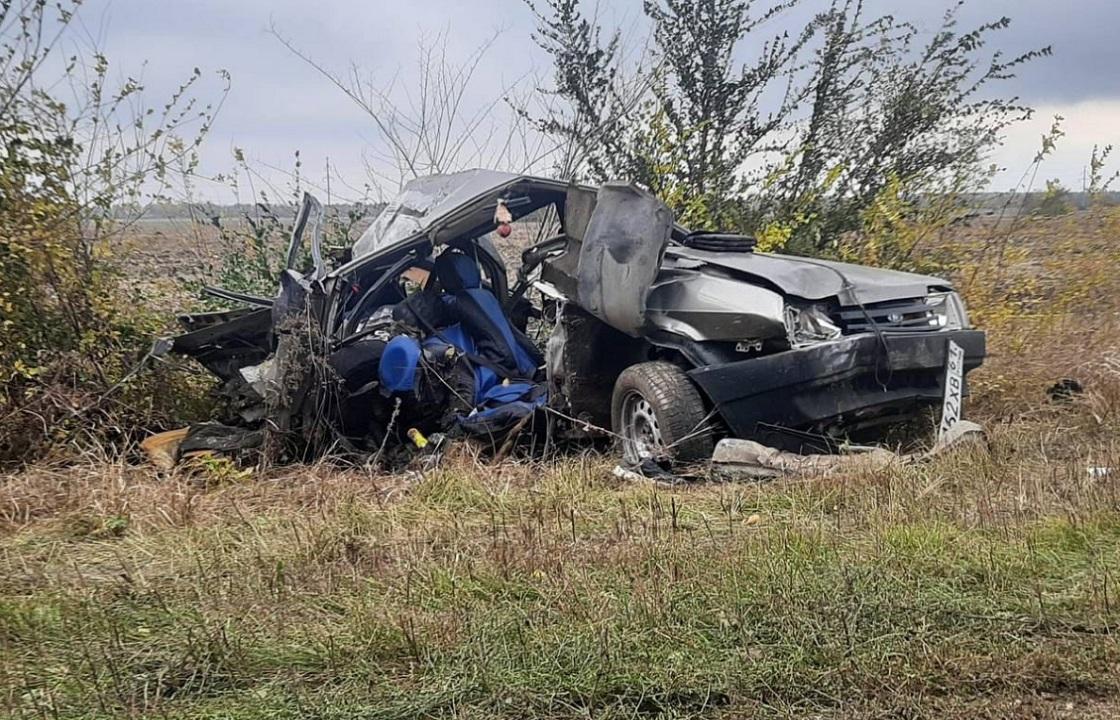 Трое детей погибли в ДТП с грузовиком под Ростовом